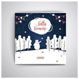 Kalėdiniai atvirukai IRKW01