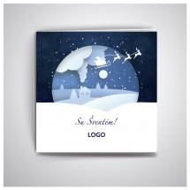 Kalėdiniai atvirukai IRKW03