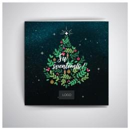 Kalėdiniai atvirukai IRKW04