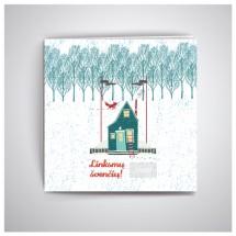 Kalėdiniai atvirukai IRKW09
