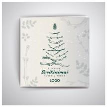 Kalėdiniai atvirukai IRKW11