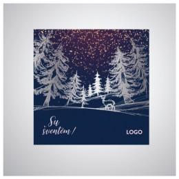 Kalėdiniai atvirukai IRKW14