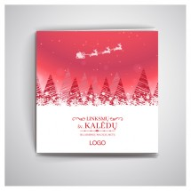 Kalėdiniai atvirukai IRKW13