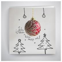 Kalėdinis atvirukas GV015