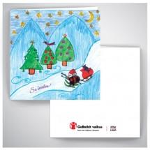 Kalėdinis atvirukas GV021
