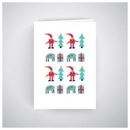 Kalėdinis atvirukas GV187