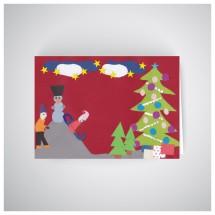 Kalėdinis atvirukas GV1901