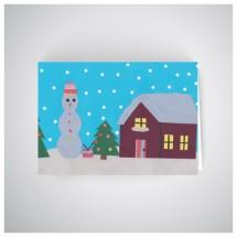 Kalėdinis atvirukas GV1903