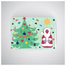 Kalėdinis atvirukas GV1909