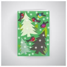 Kalėdinis atvirukas GV1916