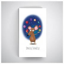 Kalėdinis atvirukas MU12