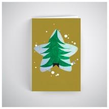 Kalėdinis atvirukas SOS028N