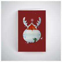 Kalėdinis atvirukas SOS030N