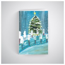 Kalėdinis atvirukas SOS1901