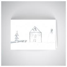 Kalėdinis atvirukas SOS1914