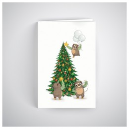 Kalėdinis atvirukas SOS2011