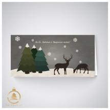 Kalėdinis atvirukas  UH03a
