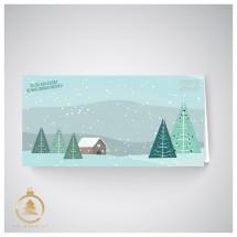 Kalėdinis atvirukas  UH09