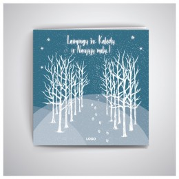 Kalėdinis atvirukas GKW55