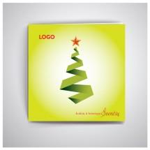 Kvadratinis Kalėdinis atvirukas GKW27