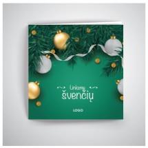 Kalėdinis atvirukas RKW01