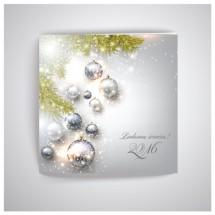 Kvadratinis Kalėdinis atvirukas SKW026