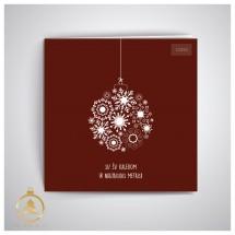 Kalėdinis atvirukas UKW02