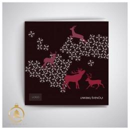 Kalėdinis atvirukas UKW13-1