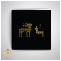 Kalėdinis atvirukas UK013