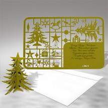 Kalėdinis atvirukas FS341zg
