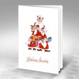 Kalėdinis atvirukas FS571
