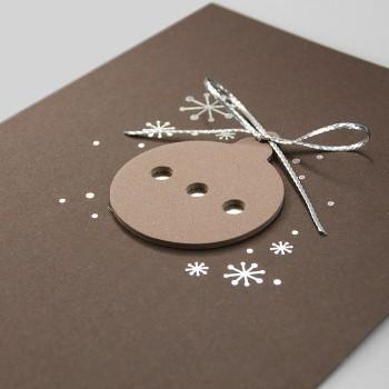 Kalėdinis atvirukas FS763