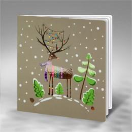 Kalėdinis atvirukas FS771