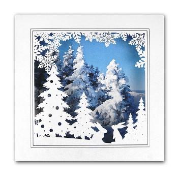 Kalėdinis atvirukas FS816tb