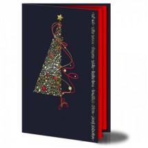 Kalėdinis atvirukas FS182gg