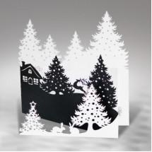 Kalėdinis atvirukas FS476ab