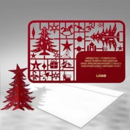 Kalėdinis atvirukas FS341bg