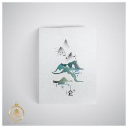 Kalėdinis atvirukas uv013