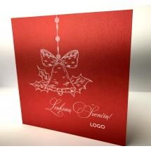 Kalėdinis atvirukas Lacquer003