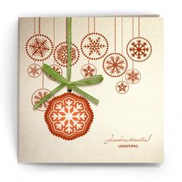 Kalėdinis atvirukas SDKW006