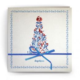 Kalėdinis atvirukas SDKW009