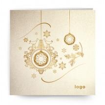 Kalėdinis atvirukas SDKW015