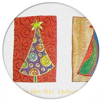 Kalėdinis atvirukas CFB012116