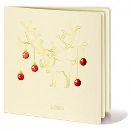 Kalėdinis atvirukas FS273tz