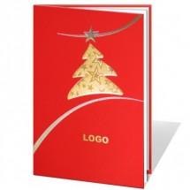 Kalėdinis atvirukas 011348WR