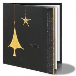 Kalėdinis atvirukas 011379B