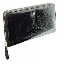 Wallet MARGARET with Swarovski crystal black