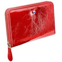 Wallet ELIZABETH with Swarovski crystal red