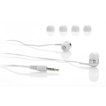 Earphones set white