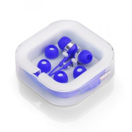 Earphones set blue